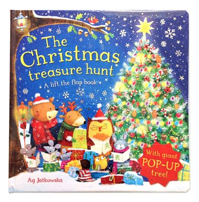 Book cover for The Christmas Treasure Hunt